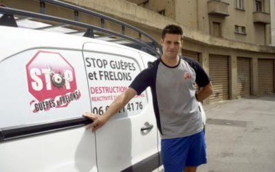 Thibaut Carrausse : Le pompier creuse sa niche dans les essaims